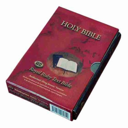 Bonded Leather Holy Bible King James Version KJV AV Christian Scriptures Christianity