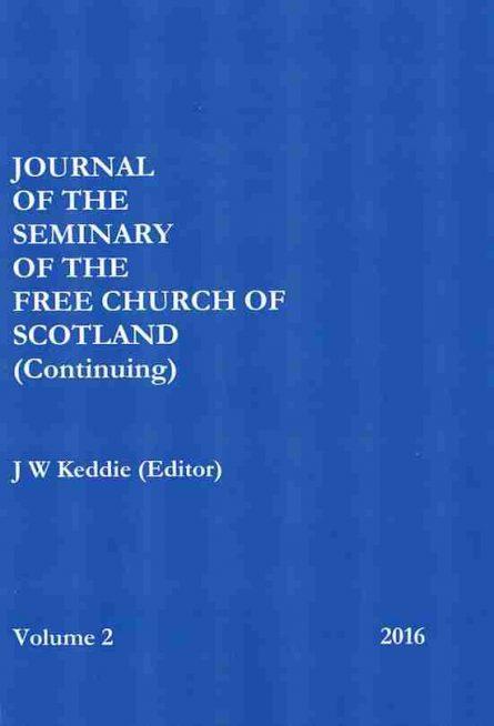 Free Church Continuing Journal John Keddie