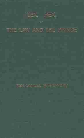 Samuel Rutherford books christian books Scottish covenanters Westminster Assembly