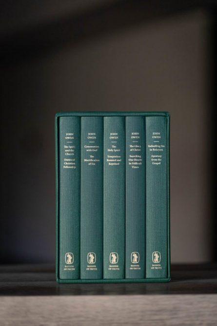 treasures of John Owen box set banner of truth puritan books reformed evangelical theology